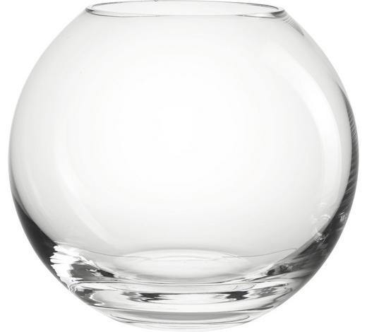 KULATÁ VÁZA 20CM, čiré - čiré, Basics, sklo (17,5cm) - Leonardo