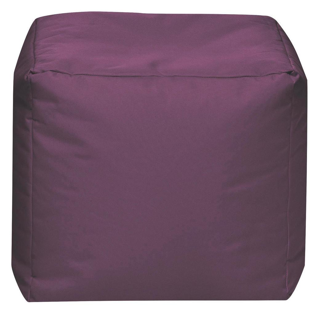 Carryhome SITZWÜRFEL Lila | Wohnzimmer > Hocker & Poufs > Sitzwürfel | Textil | Carryhome