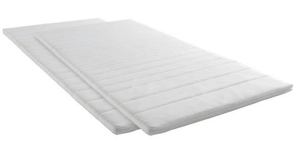 TOPPER 90/200 cm  - Weiß, KONVENTIONELL, Textil (90/200cm) - Esposa