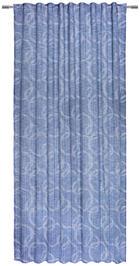 GOTOVA ZAVJESA - plava, Konvencionalno, tekstil (140/245cm) - Esposa
