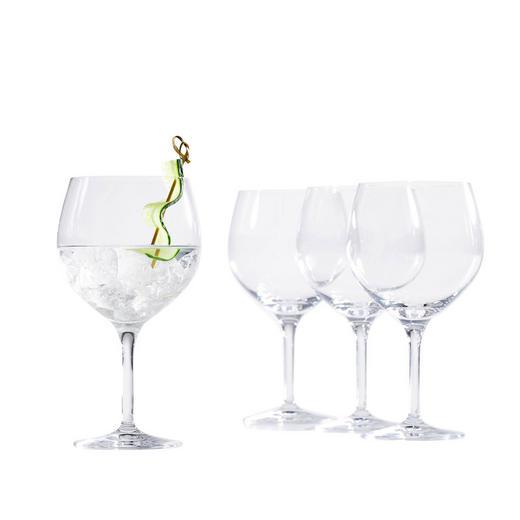 GLÄSERSET 4-teilig - Basics, Glas (19,5cm) - Spiegelau