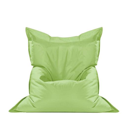 SEDACÍ PYTEL - zelená, Design, textil (180/14/140cm) - Boxxx