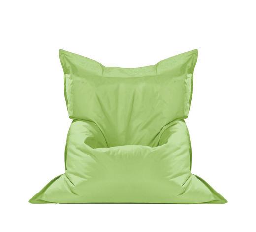 SEDACÍ PYTEL, zelená - zelená, Design, textil (180/14/140cm) - Boxxx