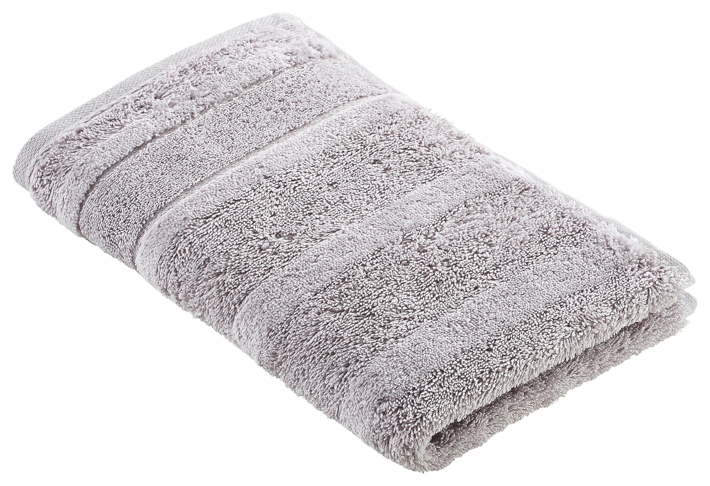 GÄSTETUCH 30/50 cm - Silberfarben, Textil (30/50cm) - CAWOE
