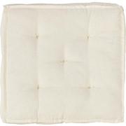 SITZKISSEN 40/40/10 cm - Weiß, Basics, Textil (40/40/10cm) - Boxxx