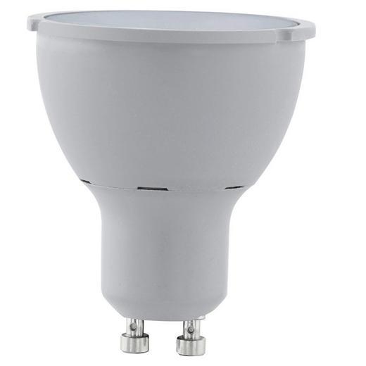 LED-COB-Leuchtmittel GU10 - Silberfarben, Basics, Kunststoff (5,8cm)