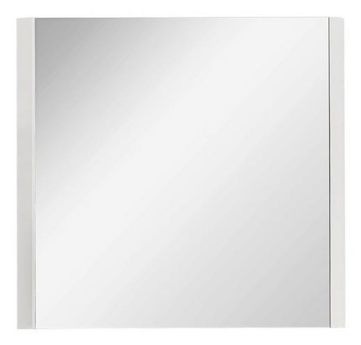 SPIEGELELEMENT Weiß - Weiß, Design, Glas (86/82/2cm) - Carryhome
