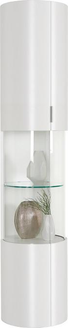 VITRINE Weiß - Weiß, Design, Glas/Holzwerkstoff (44/204,4/46,7cm) - AMBIENTE BY HÜLSTA