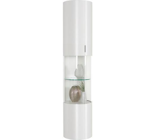 VITRINE  in Weiß - Weiß, Design, Glas/Holzwerkstoff (44/204,4/46,7cm) - Ambiente by Hülsta