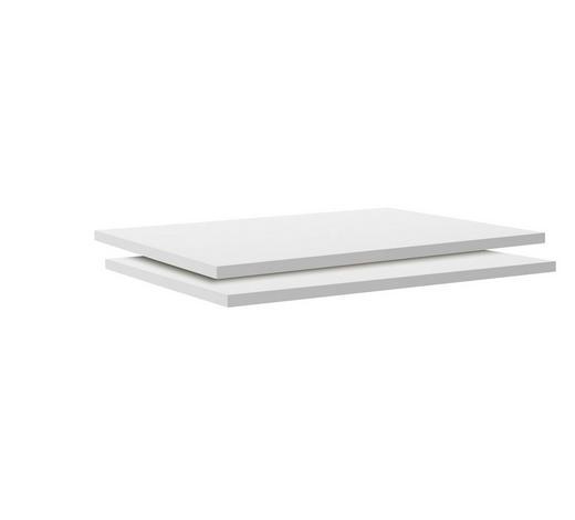EINLEGEBODENSET - Weiß, MODERN, Holzwerkstoff (87,9/1,8/54,4cm) - Hom`in