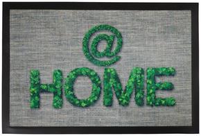 DÖRRMATTA - grön, Trend, textil/plast (40/60cm) - Esposa