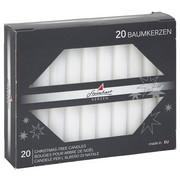 CHRISTBAUMKERZE - Weiß, Basics (1cm)