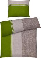 POVLEČENÍ - barvy stříbra/světle zelená, Konvenční, textil (140/220cm) - AMBIENTE