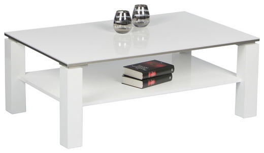 COUCHTISCH in Holzwerkstoff - Weiß, Design, Holzwerkstoff (110/70/41cm) - Carryhome