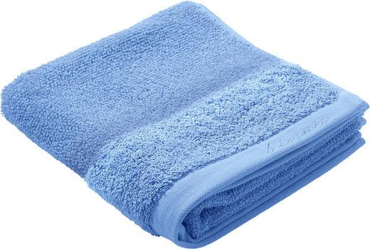 HANDTUCH - Blau, Natur, Textil (50/100cm) - Bio:Vio