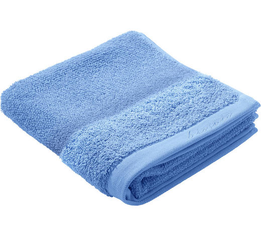 HANDTUCH 50/100 cm - Blau, Natur, Textil (50/100cm) - Bio:Vio