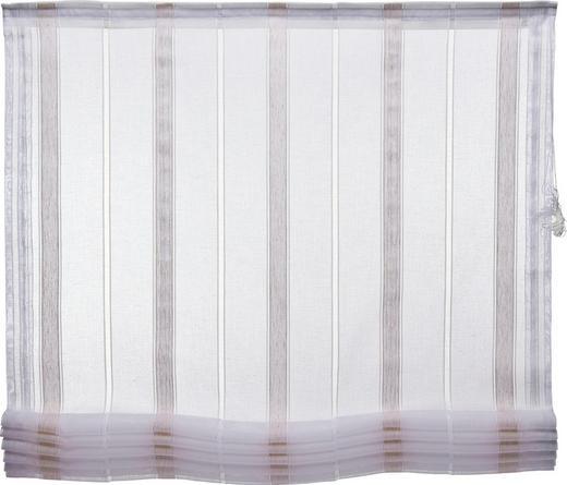 RAFFROLLO   120/170 cm - Naturfarben/Weiß, Textil (120/170cm) - Esposa