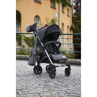 Buggy Vision - Dunkelgrau/Grau, Konventionell, Kunststoff/Textil (85/47/106cm) - Jimmylee