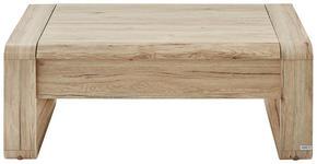 COUCHTISCH rechteckig Eichefarben - Eichefarben, Design, Metall (115/60/45(71)cm) - Hom`in