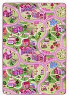 TEPIH ZA IGRU - roza, Konvencionalno, tekstil (100/165cm)