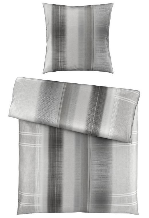 BETTWÄSCHE Satin Silberfarben 135/200 cm - Silberfarben, KONVENTIONELL, Textil (135/200cm) - Novel