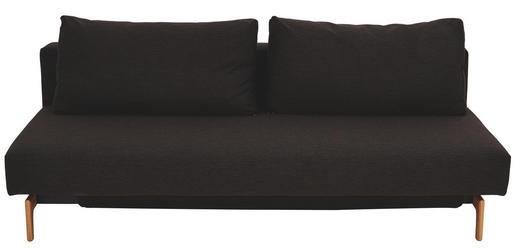 SCHLAFSOFA Braun - Eichefarben/Braun, Design, Holz/Textil (200/65/93cm) - Innovation