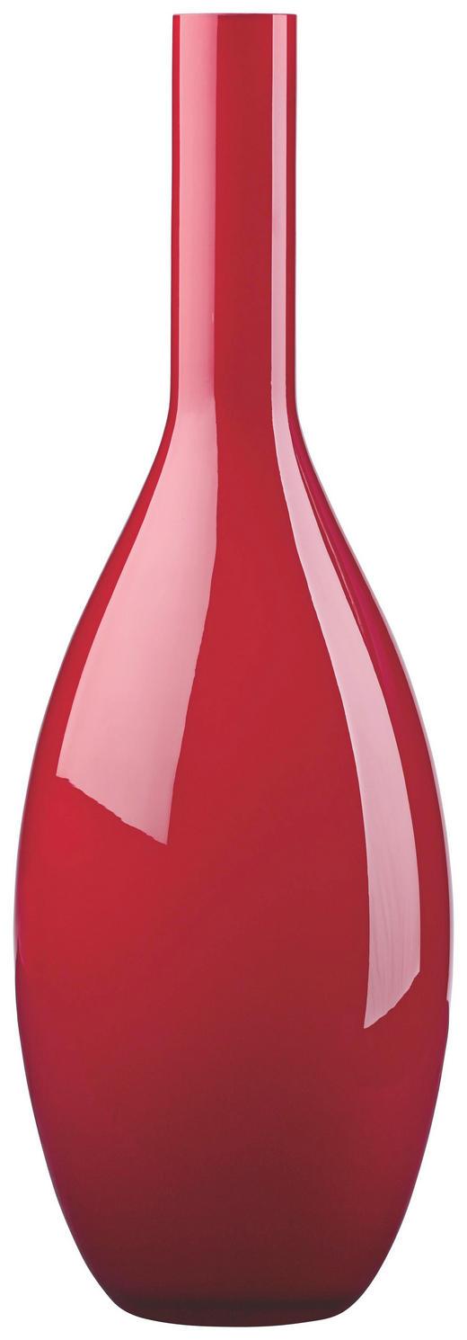 VASE - Rot, Basics, Glas (50cm) - Leonardo