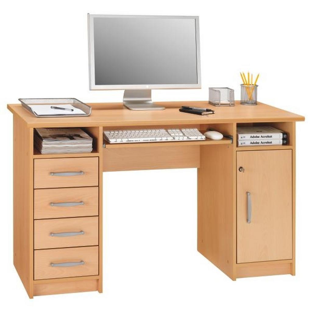 Cantus COMPUTERTISCH Braun | Büro > Bürotische > Computertische | Kunststoff | Cantus