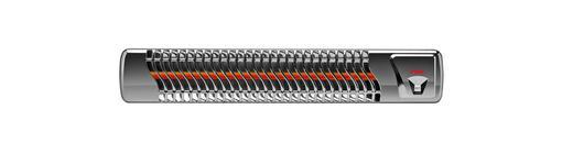 HEIZSTRAHLER - Chromfarben, Basics (59/11/10cm) - REER