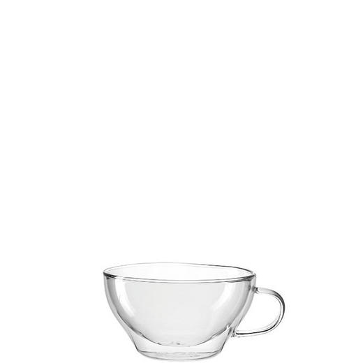 TASSENSET 2-teilig Glas Transparent - Transparent, Design, Glas (0,38l) - Leonardo