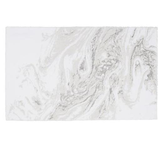 BADTEPPICH in Grau 60/100 cm - Grau, Basics, Kunststoff/Textil (60/100cm) - Ambiente