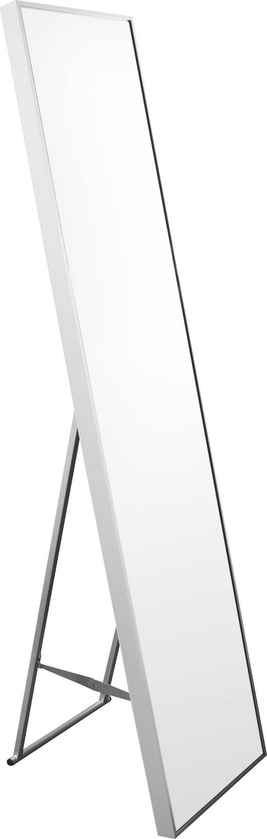 STANDSPIEGEL Alufarben - Alufarben, Design, Glas/Metall (34/150/4cm) - Xora