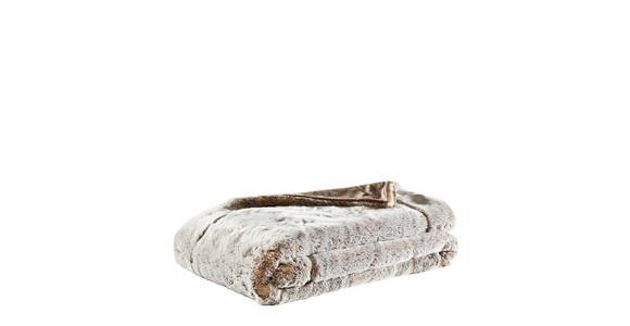 FELLDECKE 150/200 cm  - Beige, Design, Textil (150/200cm) - Ambiente