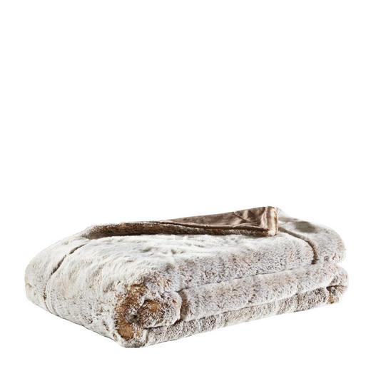 FELLDECKE 150/200 cm Beige - Beige, Design, Textil (150/200cm) - Ambiente