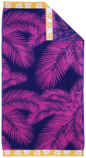 STRANDHANDDUK - orange/pink, Klassisk, textil (90/180cm) - Esposa
