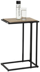 SERVIRNA MIZICA, 30/60/40 cm - črna/rjava, Design, kovina/umetna masa (30/60/40cm) - Ti`me
