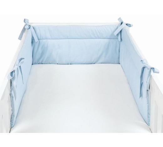 TKANENA OGRADICA - svijetlo plava, Basics, tekstil (32/210cm) - My Baby Lou