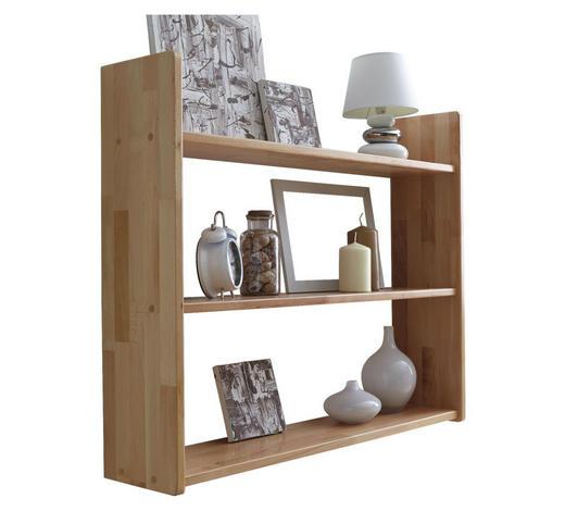 WANDREGAL Buche massiv Buchefarben  - Buchefarben, Basics, Holz (90/74/20cm) - Carryhome