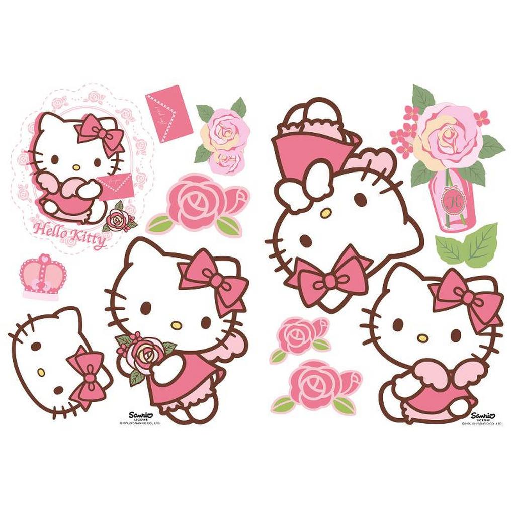 Wand- und Möbelaufkleber 'Hello Kitty'