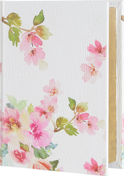 BÜCHERBOX 23/17/5 cm - Multicolor, Trend, Holzwerkstoff/Textil (23/17/5cm) - Ambia Home