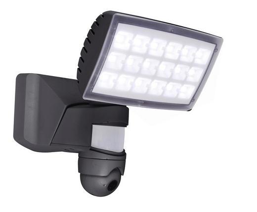 LED-AUßENLEUCHTE - Anthrazit, Basics, Kunststoff (20/27,1/22,6cm)