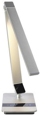 LED LAMPA NA PSACÍ STŮL - černá/barvy hliníku, Design, kov/umělá hmota (12/67/18cm)
