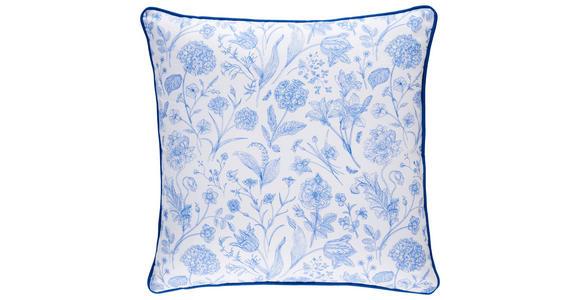 ZIERKISSEN 45/45 cm  - Blau, LIFESTYLE, Textil (45/45cm) - Esposa