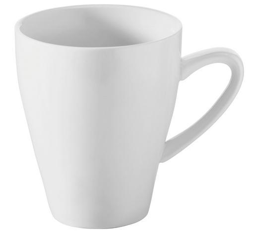HRNEK NA KÁVU, porcelán - bílá, Konvenční, keramika (0,32l) - Novel