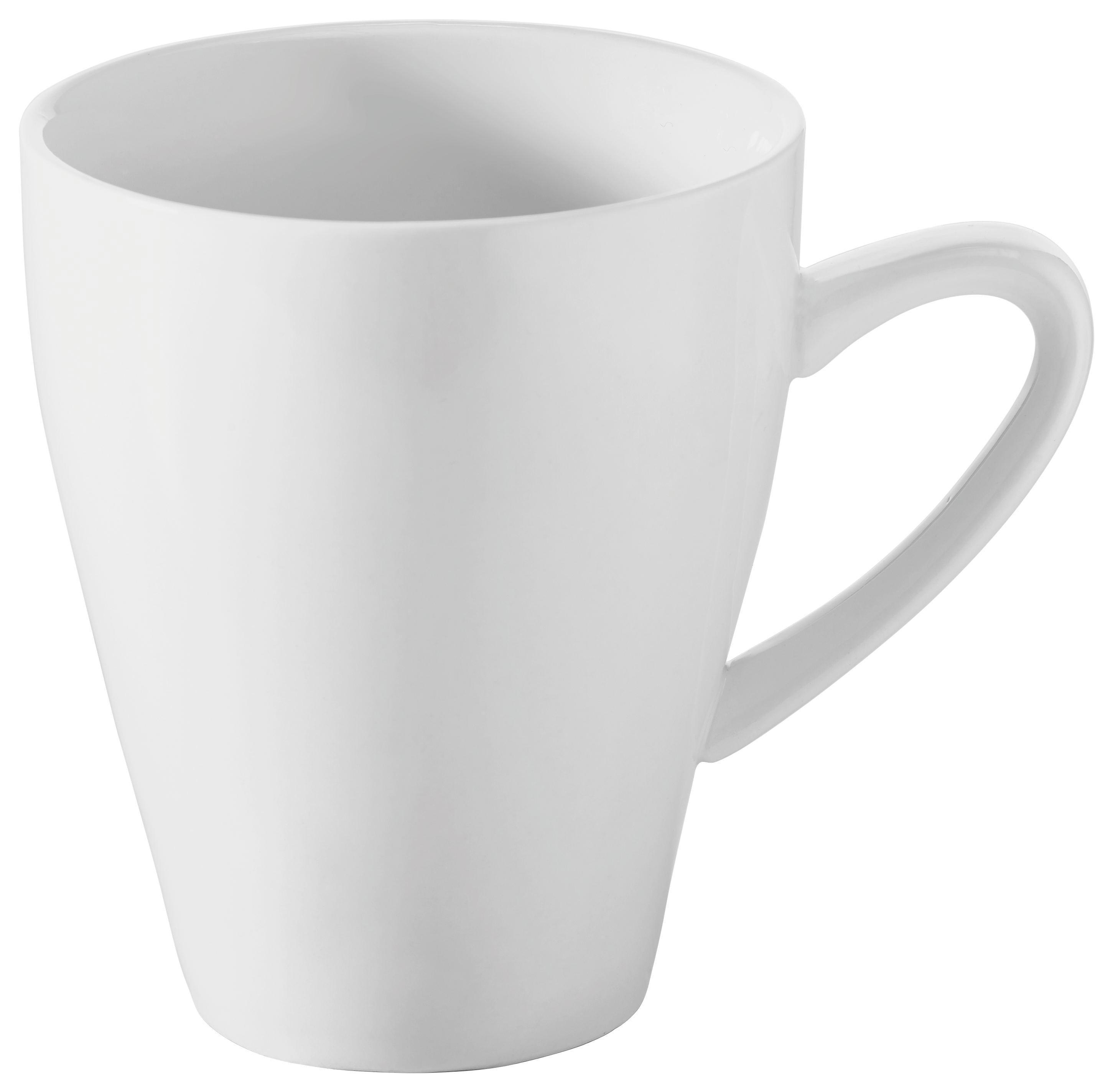 KAFFEEBECHER - Weiß (0,32l) - NOVEL