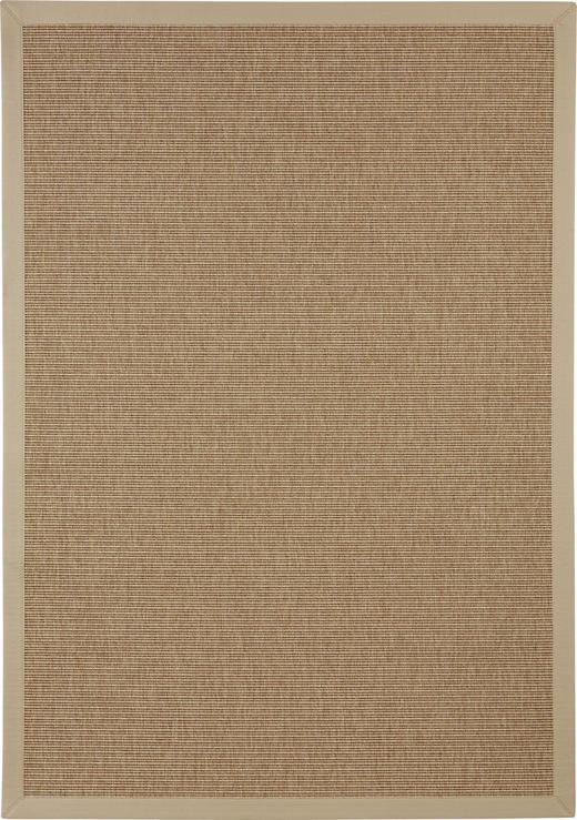 Flachwebeteppich - Beige, Konventionell, Textil (170/230cm) - Linea Natura