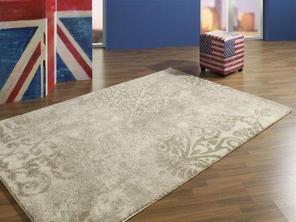 WEBTEPPICH  Beige, Creme  140/200 cm - Beige/Creme, Textil (140/200cm) - NOVEL