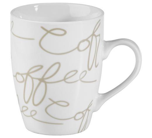 LONČEK ZA KAVO CORNELLO CREME - bela/krem, Konvencionalno, keramika (0,250l) - Ritzenhoff Breker