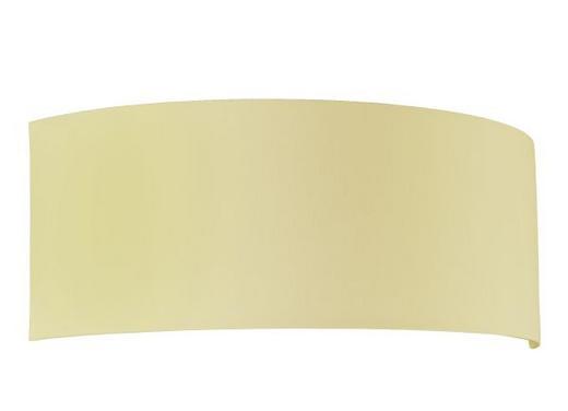 LEUCHTENSCHIRM  Creme  Kunststoff, Textil - Creme, Design, Kunststoff/Textil (13/34/12cm)