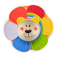 Stapelturm - Multicolor, Natur, Holz/Kunststoff (10,7/11/3,9cm) - My Baby Lou